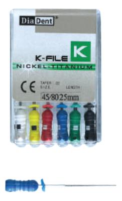 فایل دستی K طول 31 DiaDent